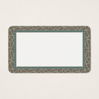Customizable Celtic Border Blank Card