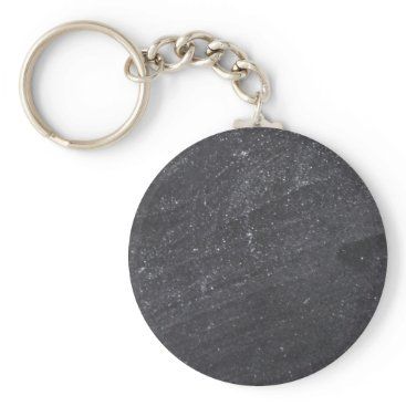 Beach Themed Customizable Chalkboard Background Keychain