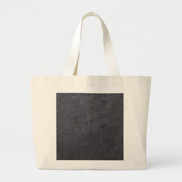 Valentines Themed Customizable Chalkboard Background Large Tote Bag