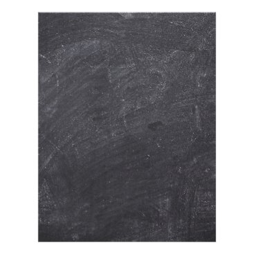Beach Themed Customizable Chalkboard Background Letterhead