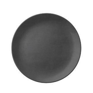 Customizable Chalkboard Background Porcelain Plates