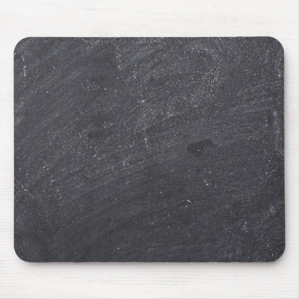 Customizable Chalkboard Background Mouse Pad
