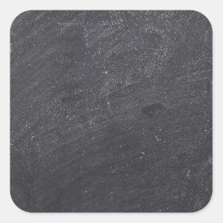 Customizable Chalkboard Background Square Sticker