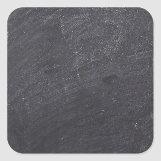 Customizable Chalkboard Background Square Sticker