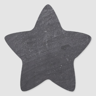 Customizable Chalkboard Base Star Sticker