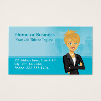 Customizable Character Business Card
