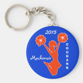 Customizable Cheer Keychains YOUR COLORS and TEXT