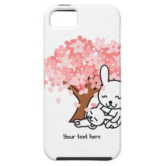 Customizable Cherry Tree and Bunnies Phone Case