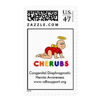 Customizable CHERUBS Logo Stamp