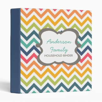 Customizable Chevron Binder