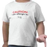 Customizable Childs Allergy Shirt