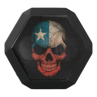 Customizable Chilean Flag Skull Black Boombot Rex Bluetooth Speaker