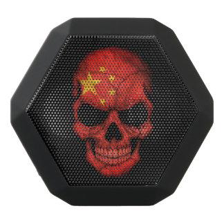Customizable Chinese Flag Skull Black Boombot Rex Bluetooth Speaker