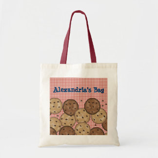 Customizable Chocolate Chip Cookies Tote Bags