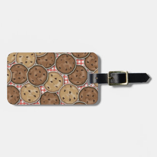 Customizable Chocolate Chip Cookies Tag For Luggage