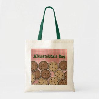 Customizable Chocolate Chip Cookies Tote Bag