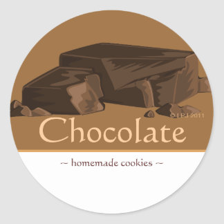 Customizable Chocolate Stickers