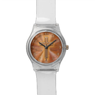 Customizable Christian Watches for Kids with Cross
