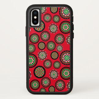 Customizable Christmas Dartboards iPhone X Case