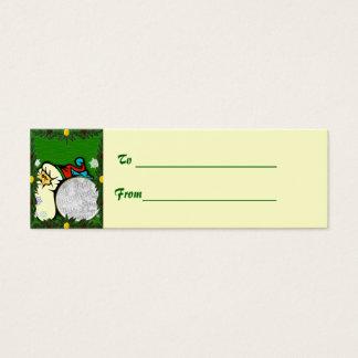 Customizable Christmas Gift Tag