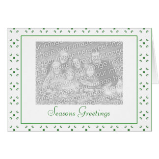 Customizable Christmas/Hanukkah Photo - Customized Card