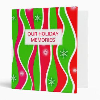 Customizable CHRISTMAS HOLIDAY BINDER