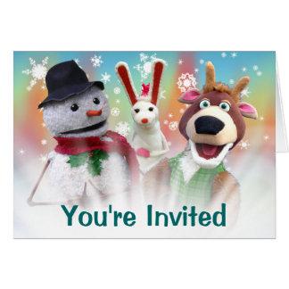 Customizable Christmas Party Invitation