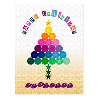 Customizable: Christmas tree Postcards