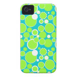 Customizable Circles & Dots Case-Mate iPhone 4 Cases
