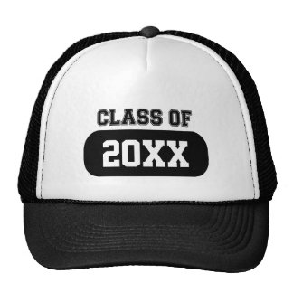 "Customizable ""Class of"" Grad Hats"