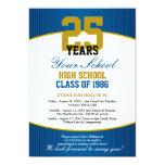 "Customizable Class Reunion 5"" X 7"" Invitation Card"