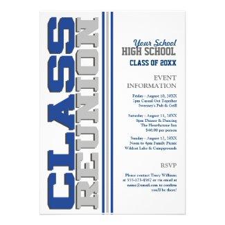Customizable Class Reunion Announcements