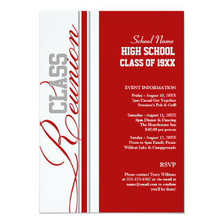 Beautiful Customizable Class Reunion Invitations Ideas Class Reunion Invitation Template