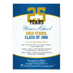 Customizable Class Reunion Invite