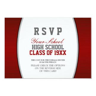 Customizable Class Reunion RSVP Card