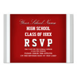 Customizable Class Reunion RSVP Personalized Invites