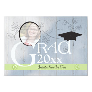 Customizable Classy Graduation Invitation