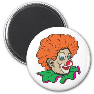 Customizable Clown! 2 Inch Round Magnet