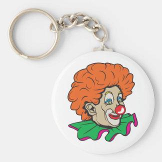 Customizable Clown! Basic Round Button Keychain