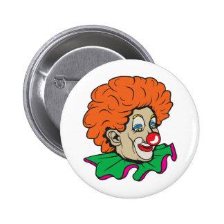 Customizable Clown! Pinback Button
