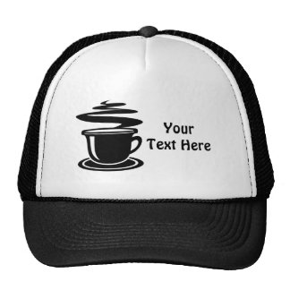 Customizable Coffee Trucker Hat