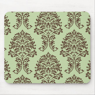 Customizable Color Damask Mouse Pad