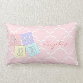 Customizable Color Decorative Baby Throw Pillow
