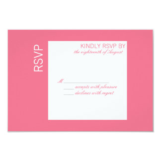 Customizable Color of The Year RSVP Card