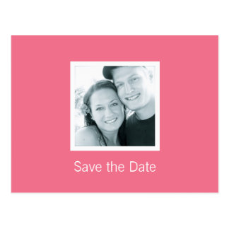 Customizable Color of The Year Save the Date Postcard