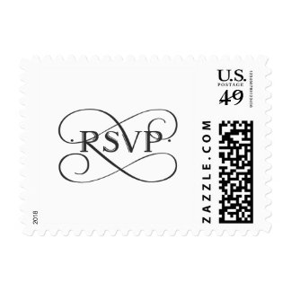 Customizable Color RSVP Postage
