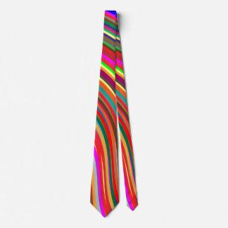 Customizable Color Splash Art Neck Tie