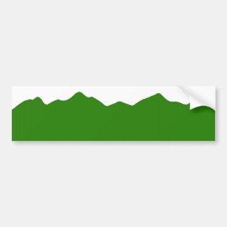 Customizable Colorado Mountains Bumper Sticker Car Bumper Sticker