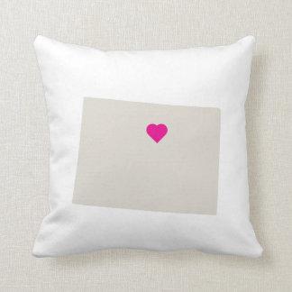 Customizable Colorado State Love Reversible Pillow