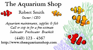 Clown business cards templates zazzle customizable coral reef clownfish business card colourmoves